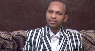 Tahirou Barry, candidat du Parti pour la Renaissance Nationale à l'élection présidentielle du 29 novembre 2015